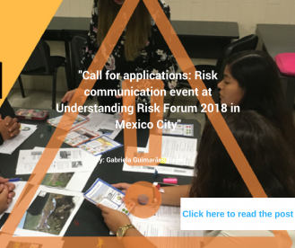 Risk communication event at UR2018
